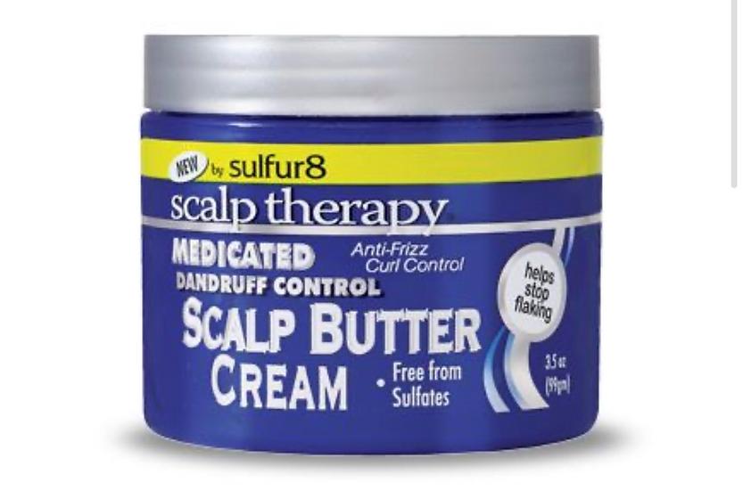 Sulfur 8 Medicated Dandruff Control Scalp Butter Cream