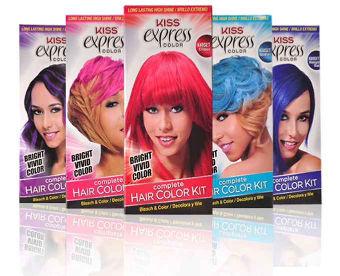 KISS: Express Color Complete Hair Color Kit