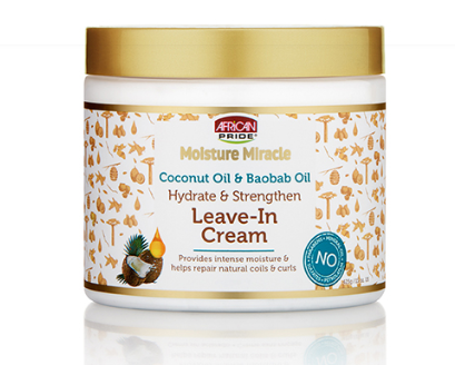 Coconut Oil & Baobab Oil Leave – In Cream