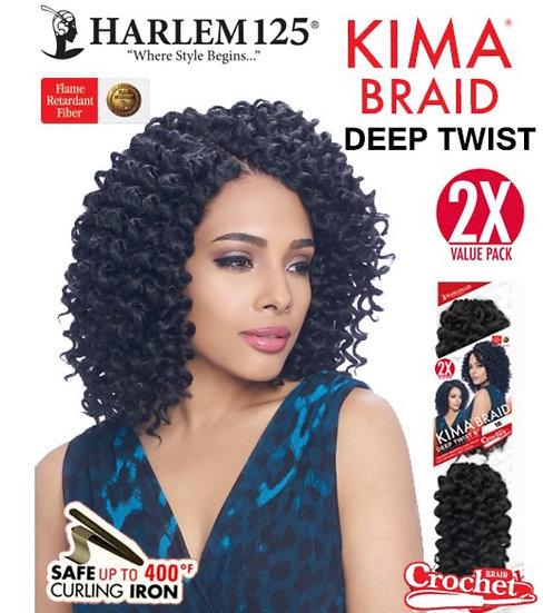 "Kima DEEP TWIST Crochet Braid 8"""