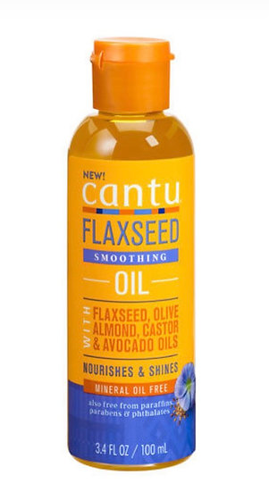 Cantu's Flaxseed Smoothing Oil 3.4 oz