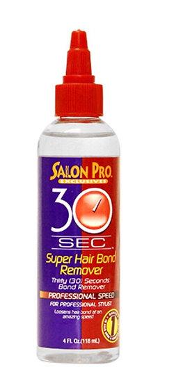 SALON PRO 30 SEC SUPER HAIR BOND REMOVER OIL (4 OZ)