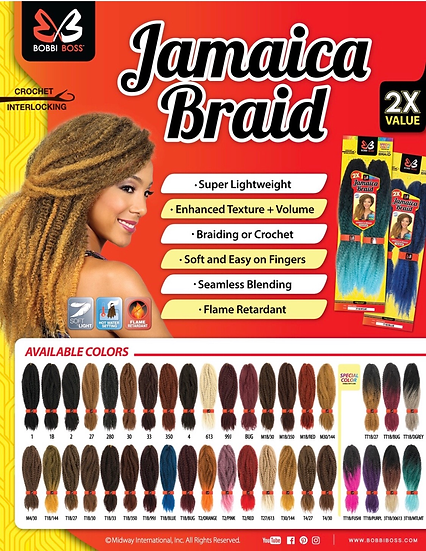 Jamaica Braid 2X