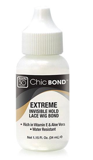 Chic Bond ™ Invisible Hold Lace Wig Bond Net 1.15 Fl. Oz. (34mL.)