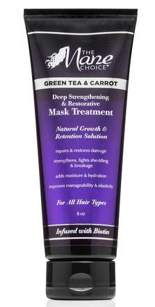 The Mane Choice Green Tea & Carrot Mask Treatment