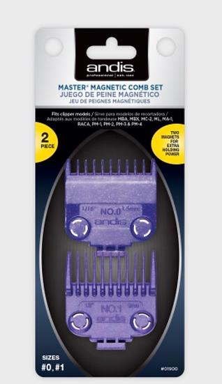 Master® Magnetic Comb Set — Dual Pack (2pcs) 01900
