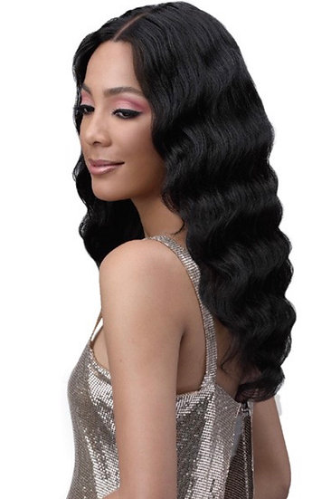 BOBBI BOSS UNPROCESSED HUMAN HAIR FREE PART LACE FRONT WIG - MHLF702 DIA