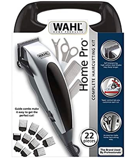 Wahl 22 Piece HomePro Hair Cutting Kit