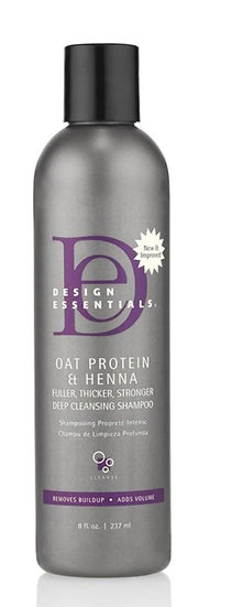 Oat Protein & Henna Deep Cleansing Shampoo 8oz