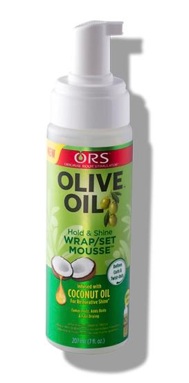 Olive Oil Wrap Set Mousse, 7 fl.oz.