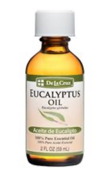 Aceite de la Cruz Eucalyptus Oil Natural - 2 oz