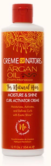 Creme of  Nature Moisture & Shine Curl Activator Creme