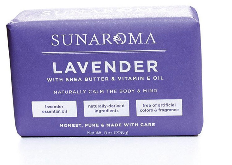 Sunaroma Lavender Soap - 8 oz.