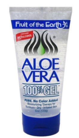Fruit of the Earth Aloe Vera 100% Gel 6 oz
