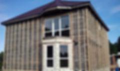 Подготовка фасада для утепления эковатой
