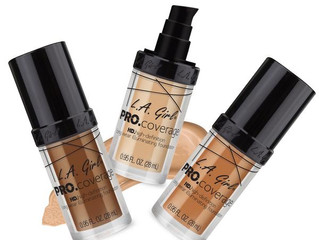 L.A. Girl Pro Coverage Illuminating Foundation Review