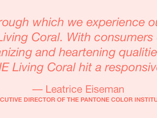 2019 Pantone Colour of the Year- Living Coral