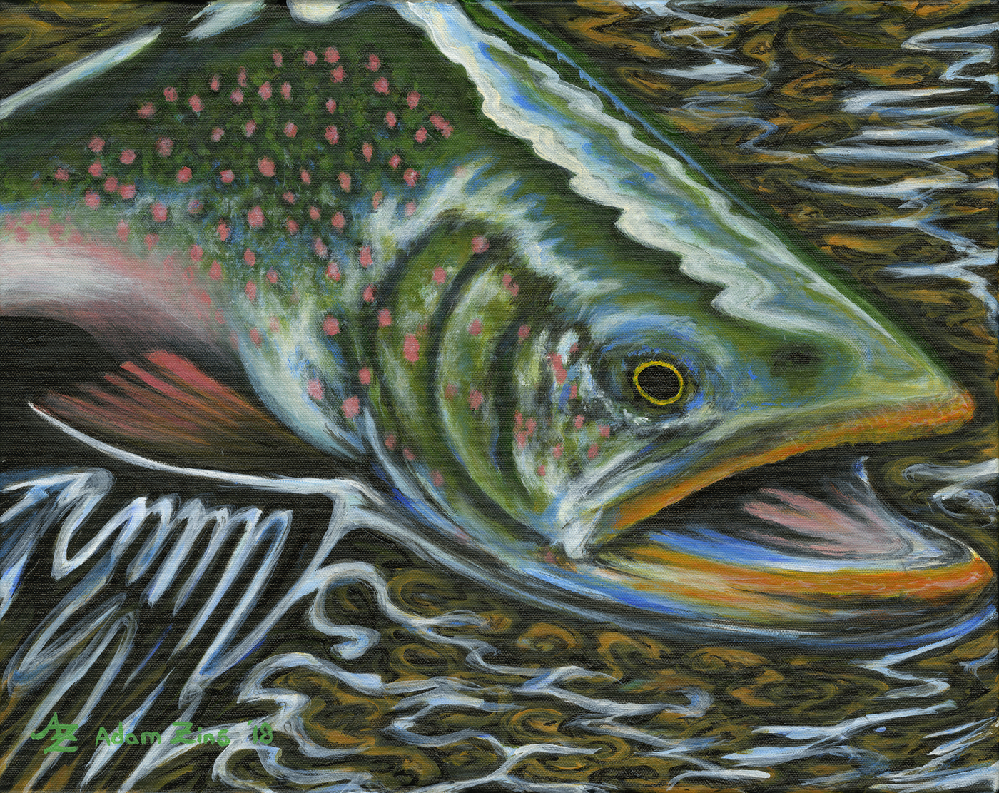 Surface Salmon