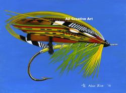 Green Highlander Fly