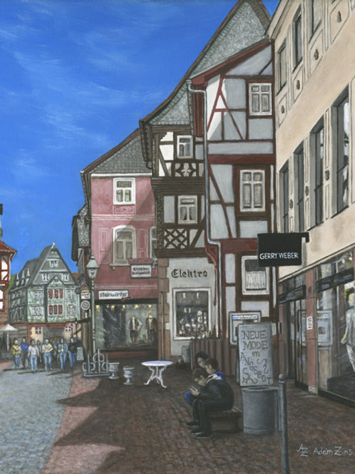A Brief Moment In Miltenberg