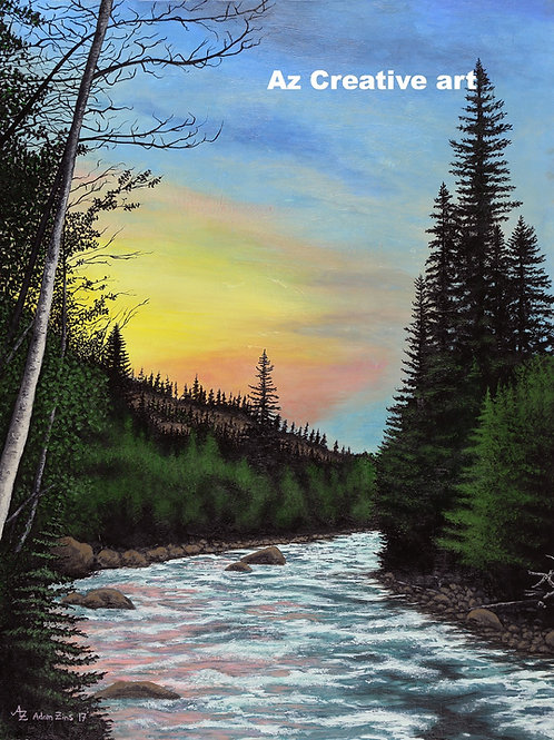 Roaring Folk River, Co.