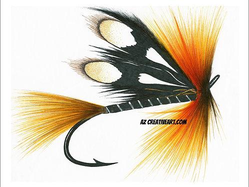 Orange Terror Fly