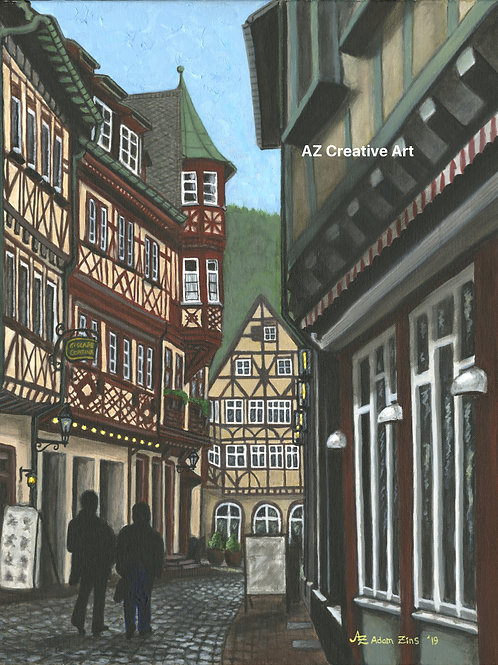 Miltenberg, Bavaria,Germany