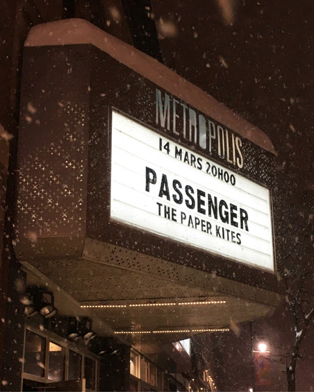 PASSENGER in Montreal