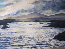 Bays Loch. Harris, 60x80Sold
