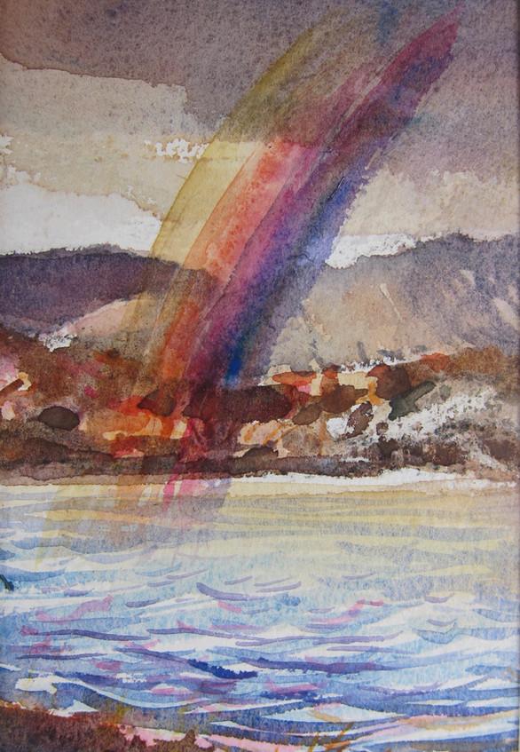 Quidinish Loch, Rainbow