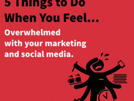 Overwhelmed with Social Media Marketing!?