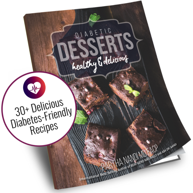 Dr. Nandi's Diabetic Desserts Cookbook