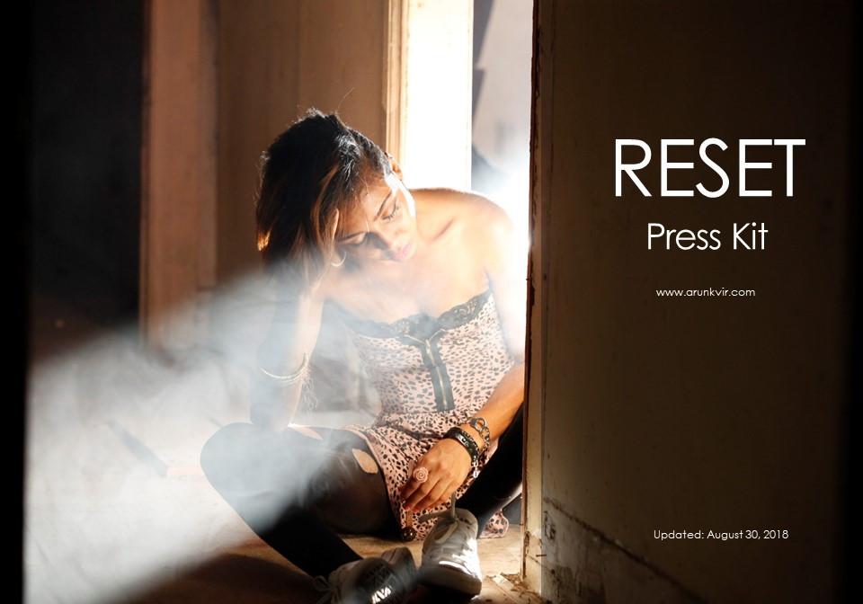 PRESS KIT for the film RESET