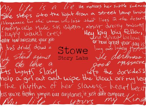 Stowe Story Labs Announces 2020 Development Grant Winners