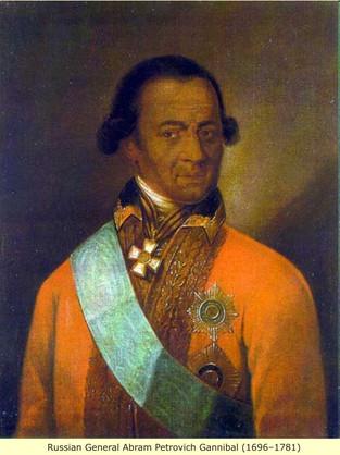 Abram Petrovic Gannibal (1696-1781)