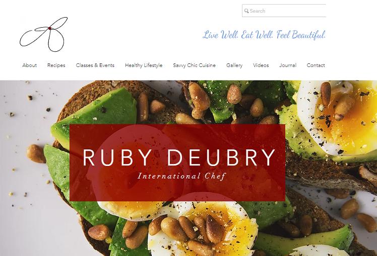 NEW WEBSITE FOR RUBY DEUBRY
