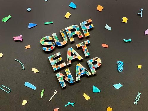 SURF EAT NAP