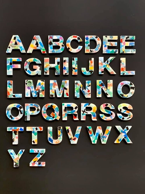 36 Piece Alphabet Set