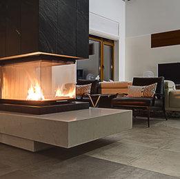 The Douglas fireplace