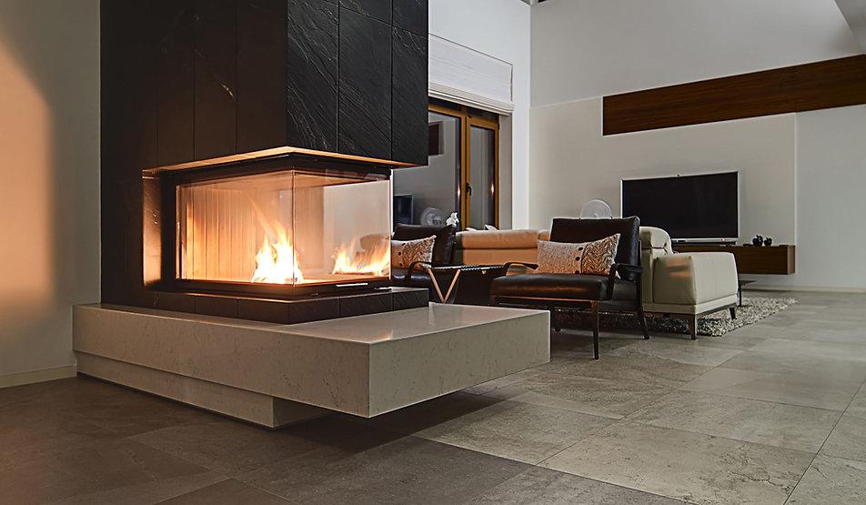 現代の暖炉