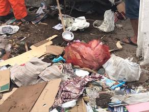 Prefeitura retira 10 toneladas de lixo de casa de idosas em Garanhuns