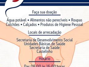 Prefeitura de Triunfo lança campanha em prol das famílias atingidas pelas chuvas na Mata Sul