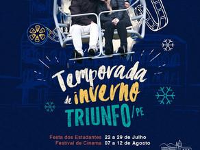 A Temporada de Inverno em Triunfo já começou!