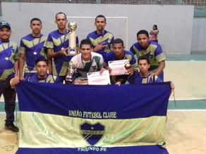 União é o time vencedor do Campeonato Municipal de Futsal 2017 em Triunfo