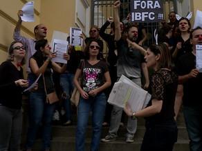 Candidatos fazem protesto no Recife para pedir anulação de concurso do TJPE