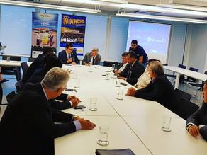 Prefeito de Triunfo coordena reunião com Dnocs sobre o projeto da Adutora do pajeú