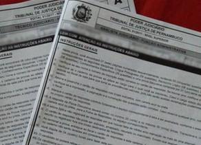 Polícia investiga fraude no concurso do TJPE