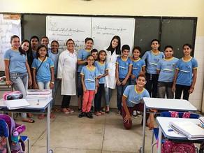 Trabalho de Educação em Saúde Bucal é realizado no distrito de Jericó