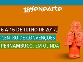 Cachaça Triumpho e Chico Santeiro representam Triunfo na 18ª Fenearte