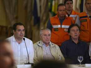 Temer sinaliza liberação de linha de crédito de R$ 600 milhões para obras em Pernambuco